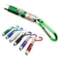 3 in 1 UV Laser Pointer Beam with Keychains - C-03