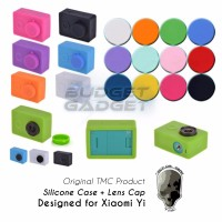 TMC Silicon/Silicone Protective Case + Lens Cap for Xiaomi Yi