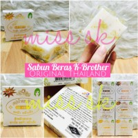 Sabun susu beras Kbrother rice milk thailand
