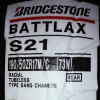 Ban Belakang Bridgestone Battlax 190/50-17 S21 Hypersport Rear motor