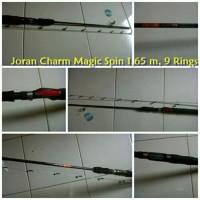 Joran Full Fiber Super Lentur Charm Magic Spin 1.65 m