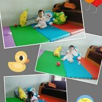 Playmat / matras bayi Alqeemat size 1,2mx2mx4cm busa rebondid dens70