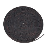 2GT-6 Rubber Timing belt 6MM 3D printer Fit 2GT pulley per 0.5m