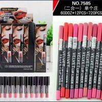 Kiss Beauty Matte Lip color Intensenly Pigmented Shades 2in1
