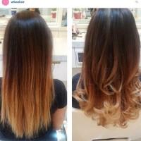 Hair Clip/Hairclip/Hair Klip/Voluxe hair/ Latte 40 cm