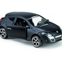Majorette Premium Cars Renault Megane Black Matte