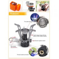 Backpacking Canister Camping Stove Kompor Gas Portable