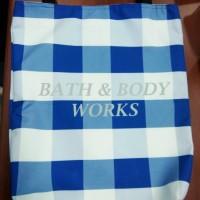 BATH & BODY WORKS TOTE BAG BAHAN PREMIUM