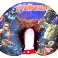 Bantal Leher Superhero Styrofoam Avengers Nyaman Lembut J510322AA