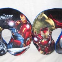 Bantal Leher Avengers Empuk Soft Gift Lembut Superhero P510318SHAA