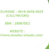 0812-9526-6220 | Pusat Grosir Boneka Wisuda Gajah