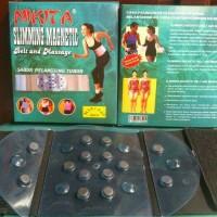 NIKITA SLIMMING MAGNETIC BELT AND MASSAGE/Korsett Pelangsing Tubuh