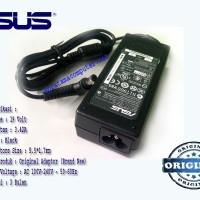 Adaptor/Charger Laptop/Notebook Asus 19V-3.42A Original New Bonus Kabel Power