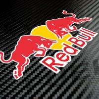 Sticker/Stiker RED BULL 01 untuk Helm atau Body Motor