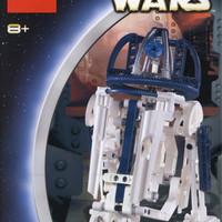 Lego 8009 R2D2 Star wars edisi tahun 2001
