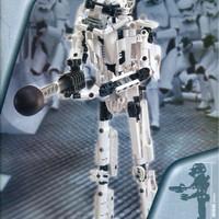 Lego 8008 Stormtrooper Star Wars edisi tahun 2001