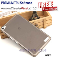 Softcase HUAWEI Mediapad X1 : PREMIUM TPU Softcase ( + FREE SP)