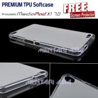 Softcase HUAWEI Mediapad X1 : PREMIUM TPU Softcase ( + FRE [BARU]