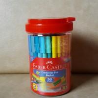 ATK0239FC 50 warna connector pen Faber Castell spidol 11150050CC ultah