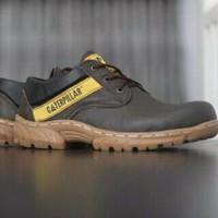 promo sepatu boots caterpillat safety brokoly
