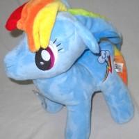 Mainan Boneka Rainbow Dash My Little Pony 13 Inch Blue GH521278LB