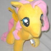 Mainan Fluttershy Boneka My Little Pony 13 Inch Yellow Pink A521278YP