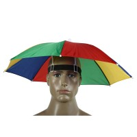 Topi Payung Headband Umbrella Sun Shade - Multi-Color