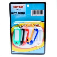 Gantungan Kunci Joyko KR-6 | Joyko Key Ring KR-6 (Pak Isi 6 Pcs)