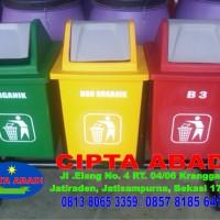 Produk Tempat sampah fiber / Tempat Sampah B3