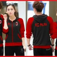 JUAL MURAH [Cp Jkt Milan CL] pakaian pasangan jaket cowok + cewek