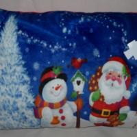 Bantal Santa Christmas Kado Hadiah Natal Photo Print C510330SSPN