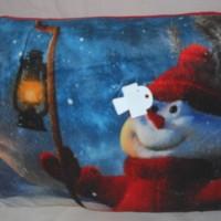 Bantal Santa Christmas Kado Hadiah Natal Photo Print 510330MS
