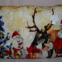Bantal Santa Christmas Kado Hadiah Natal Photo Print P510330SRSPN