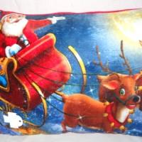 Bantal Santa Christmas Kado Hadiah Natal Photo Print M510330SKS