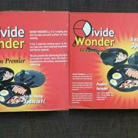 EXCLUSIVE DIVIDE WONDER PAN SET AS SEEN ON TV / Divided Pan Set MURAH