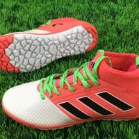 Sepatu Futsal Adidas Ace17.3 TF - White Red