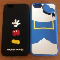 case iPhone 6/6s mickey and donald