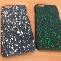 case iPhone 6/6s splash green/white
