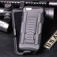 Iphone 4 4s 5 5s hardcase future armor dual layer bumper case