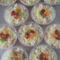 salad buah keju 200ml