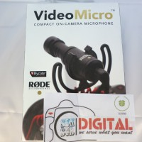 Rode Video Micro Compact On-Camera Microphone for DLSR Nikon / canon