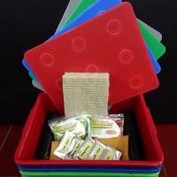 starterkit (starter kit) 4 baki paket hidroponik wick sistem pemula