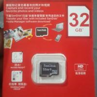 MMC MEMORY MEMORI MICRO SD SANDISK 32GB