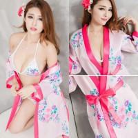 Lingerie Kimono Pink