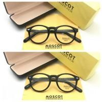 Paket Kacamata Moscot Miltzen USA + Lensa Minus Antiradiasi
