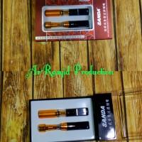 1 Set Penyaring Racun / Filter Pipa Rokok Sanda Holder Sd-176