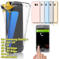 Full Body Clear Touch Case for Samsung Galaxy A / J / S / Note Series