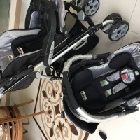 Stroller Kereta Bayi Elle with Car Seat