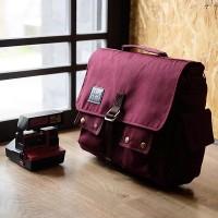 Tas Kamera DSLR HONX HNX-006 Maroon Sling Bag