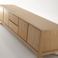 bufet cabinet TV minimalis solid jati jepara